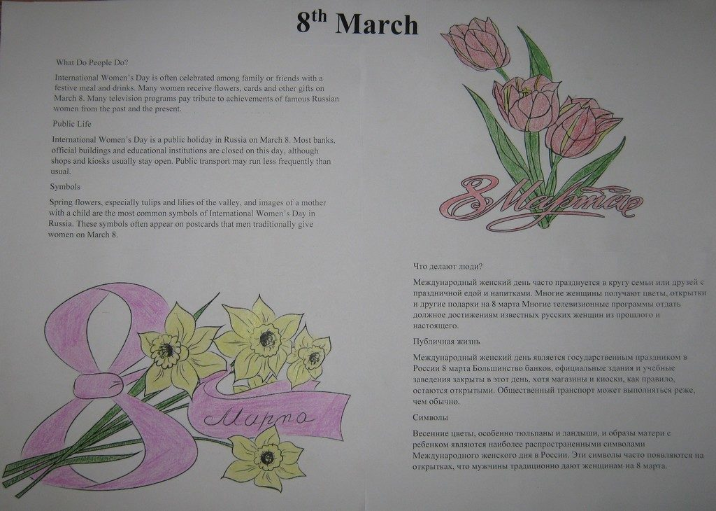8th March
